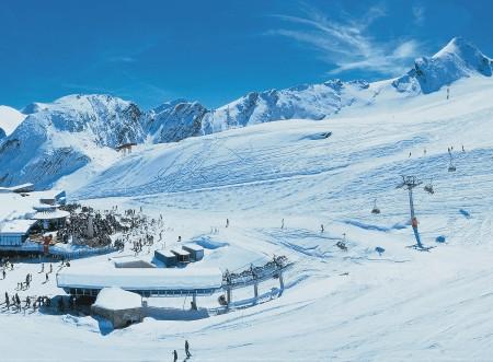 Sylwester w Austrii - lodowiec Kitzsteinhorn
