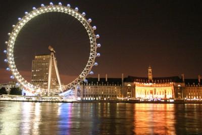 Anglia Sylwester w Anglii w Londynie