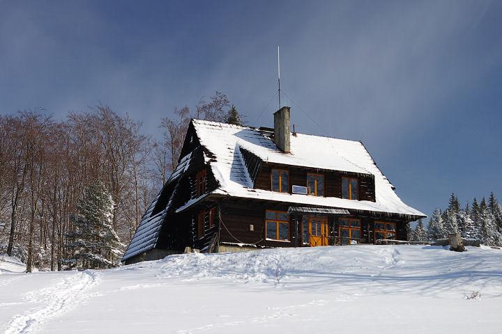 Bacówka Sylwester w górach w bacówce