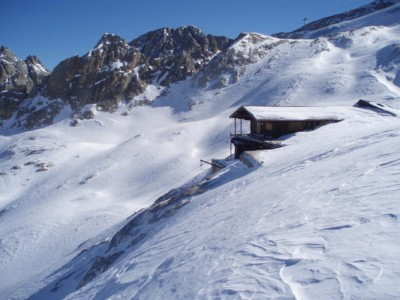 Dolomity Sylwester w Dolomitach Marmolada