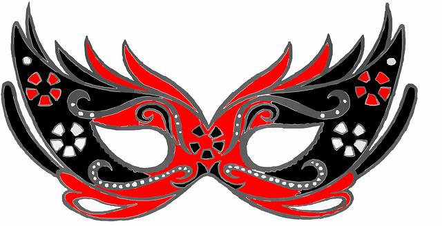 maski dla dzieci na Sylwester