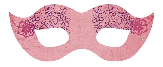 maska dla dziecka na Sylwester