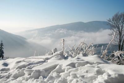 Pieniny Sylwester w Pieninach na nartach
