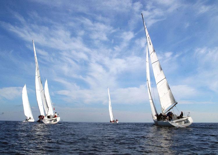 Morze Sylwester na jachcie na morzu